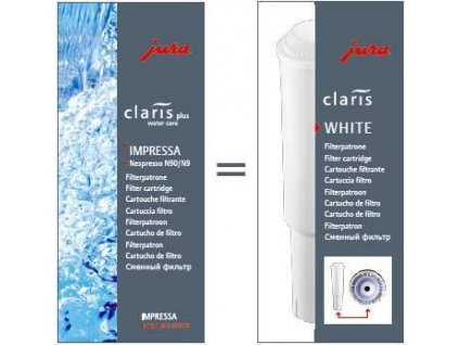 Jura Claris White 1 ks