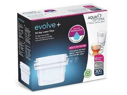 Náhradní filtry Aqua Optima Evolve - 6ks
