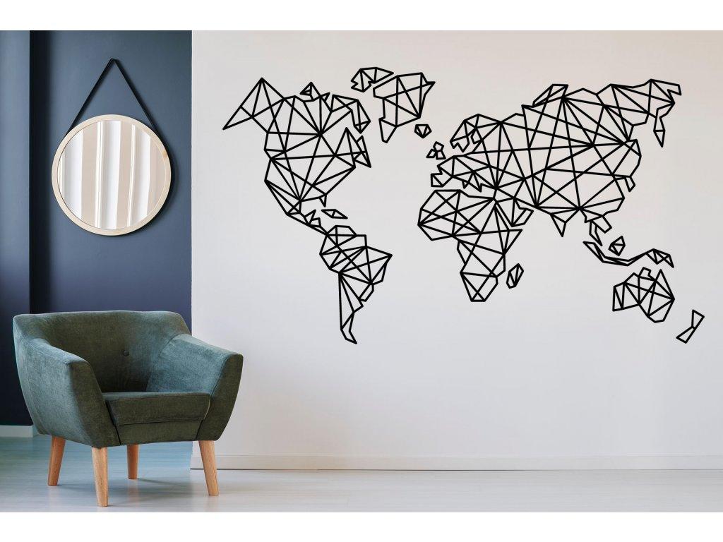 nazed 1331 mapa sveta cerna70 80