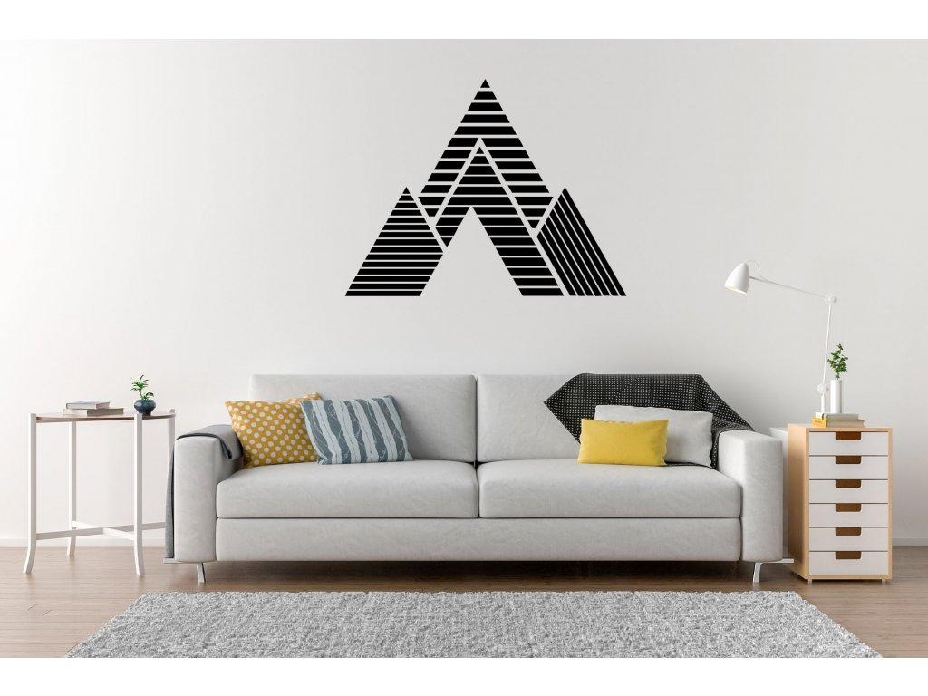 nazed 1101 piramida pruhy cerna70 80