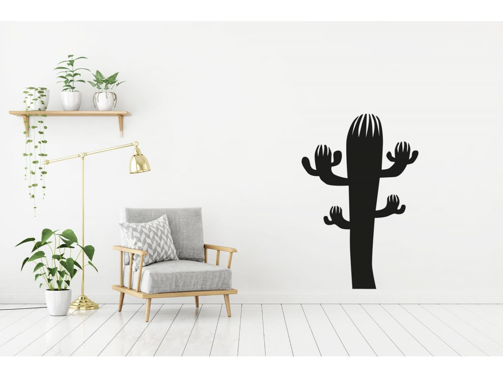 Samolepka na zeď Kaktus