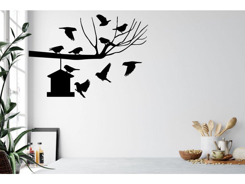 nazed 1222 strom ptaci budka cerna70 80