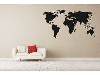 nazed 1343 mapa sveta cerna70 80