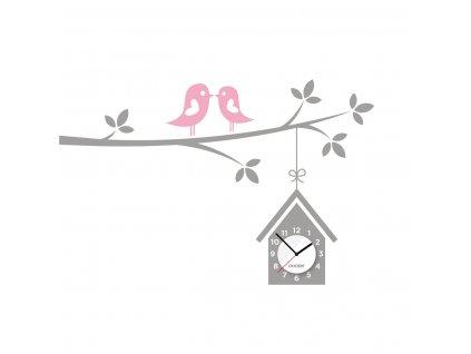 clocker birdhouse ciselnik ruzova 1200