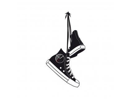 shoes black 1200