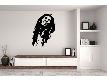Samolepka na zeď Bob Marley