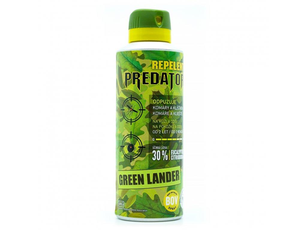 predator green lander bov