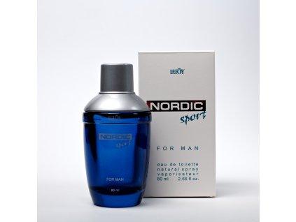 Nordic Sport – eau de parfum – 80 ml  + DÁREK (platí pro 1 objednávku, vyberte po přidání do košíku)