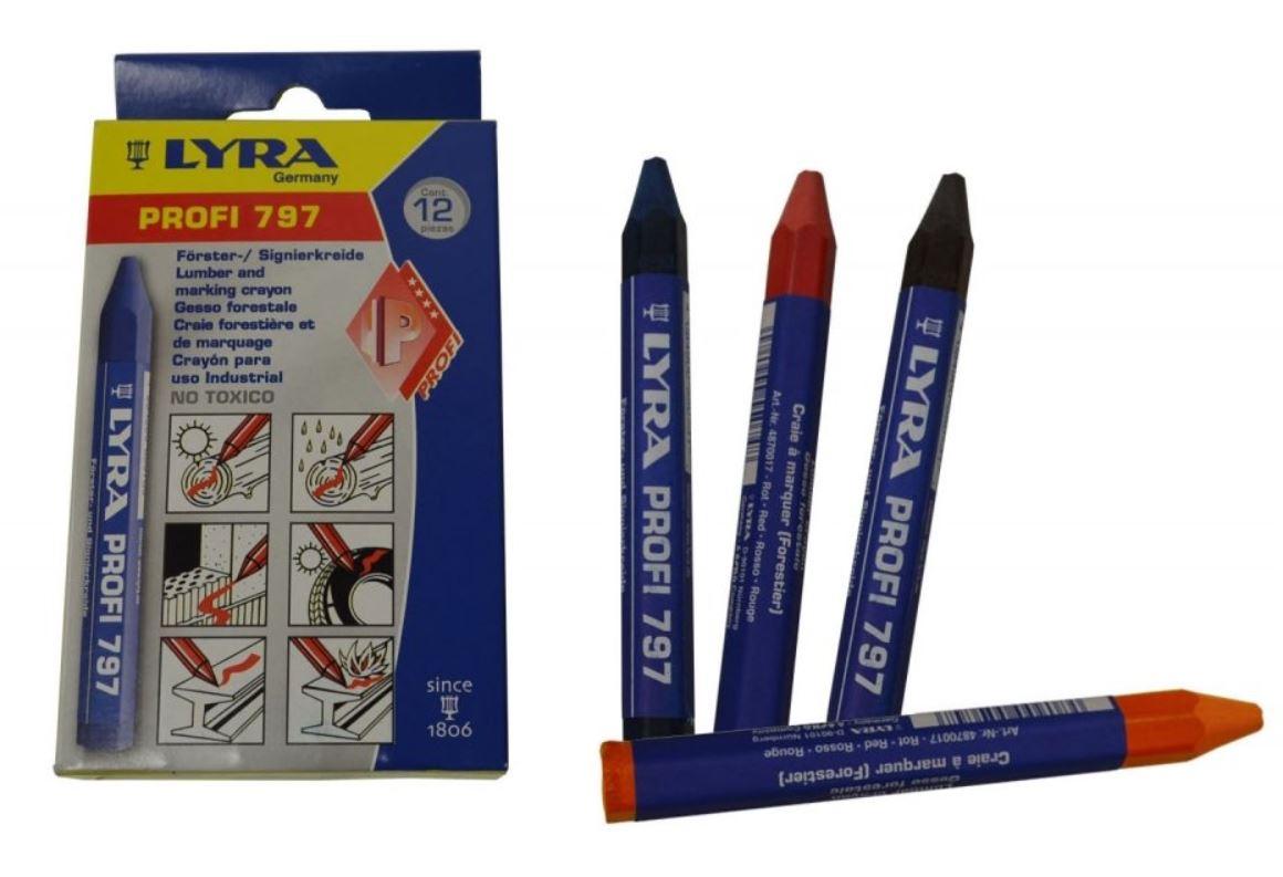 Křídy a tužky