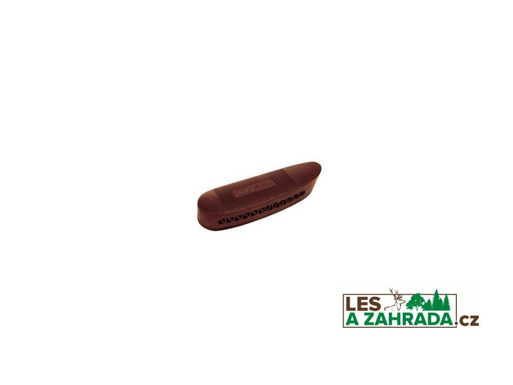 Gumová botka na pažbu 135x50x20 mm černá/hnědá