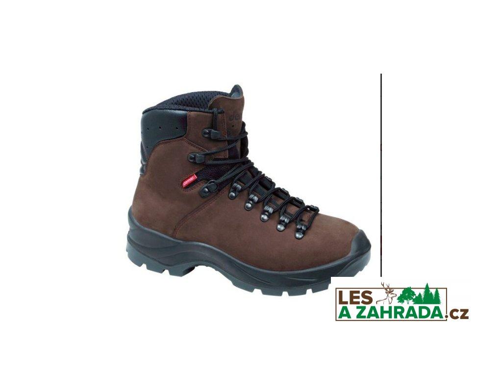 Lovecké trekové boty TREK M6 6465 hnědé