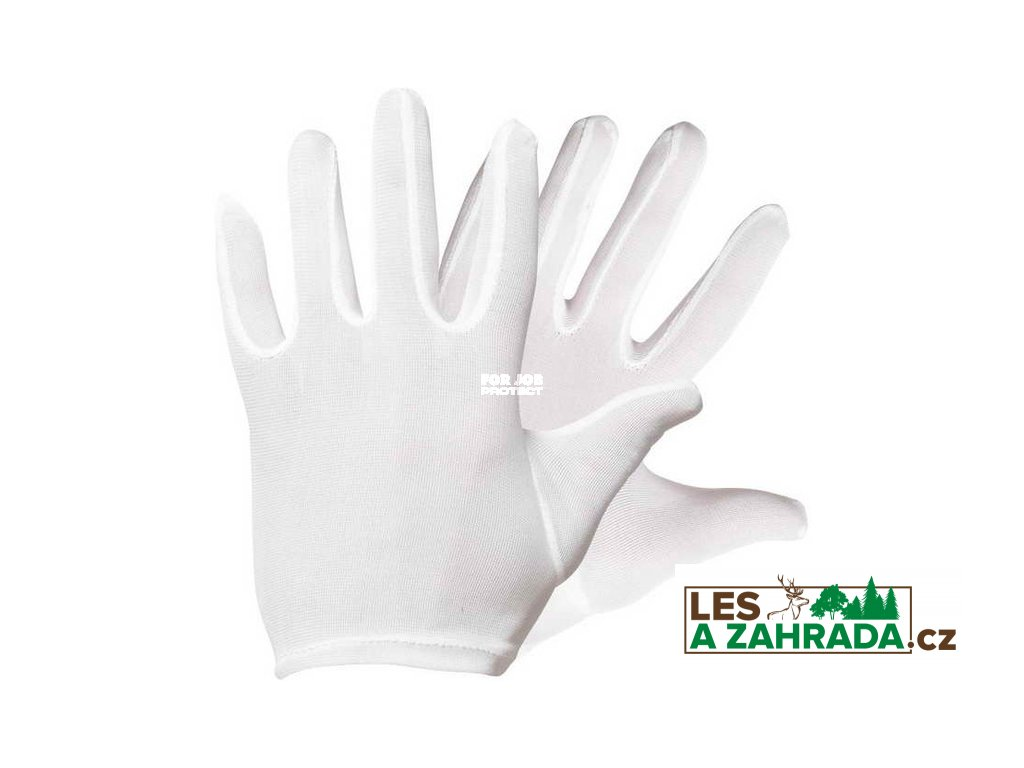 Pracovní rukavice Ibis, šitý nylonový úplet 9