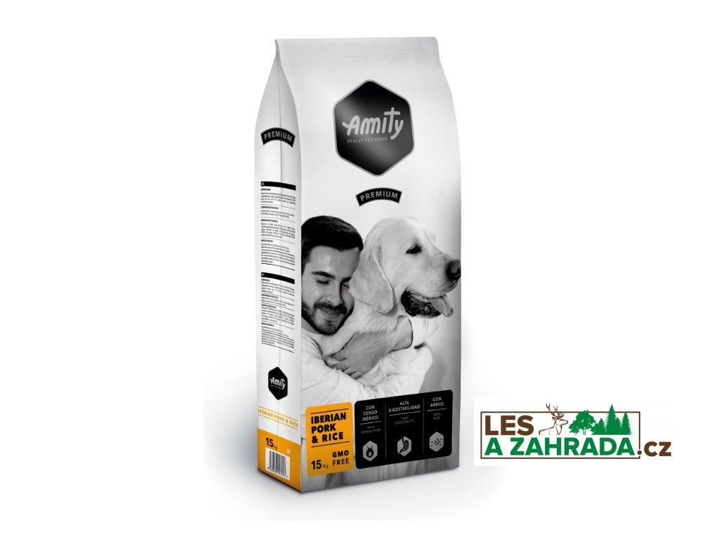 AMITY premium dog IBERIAN Pork & Rice 15kg