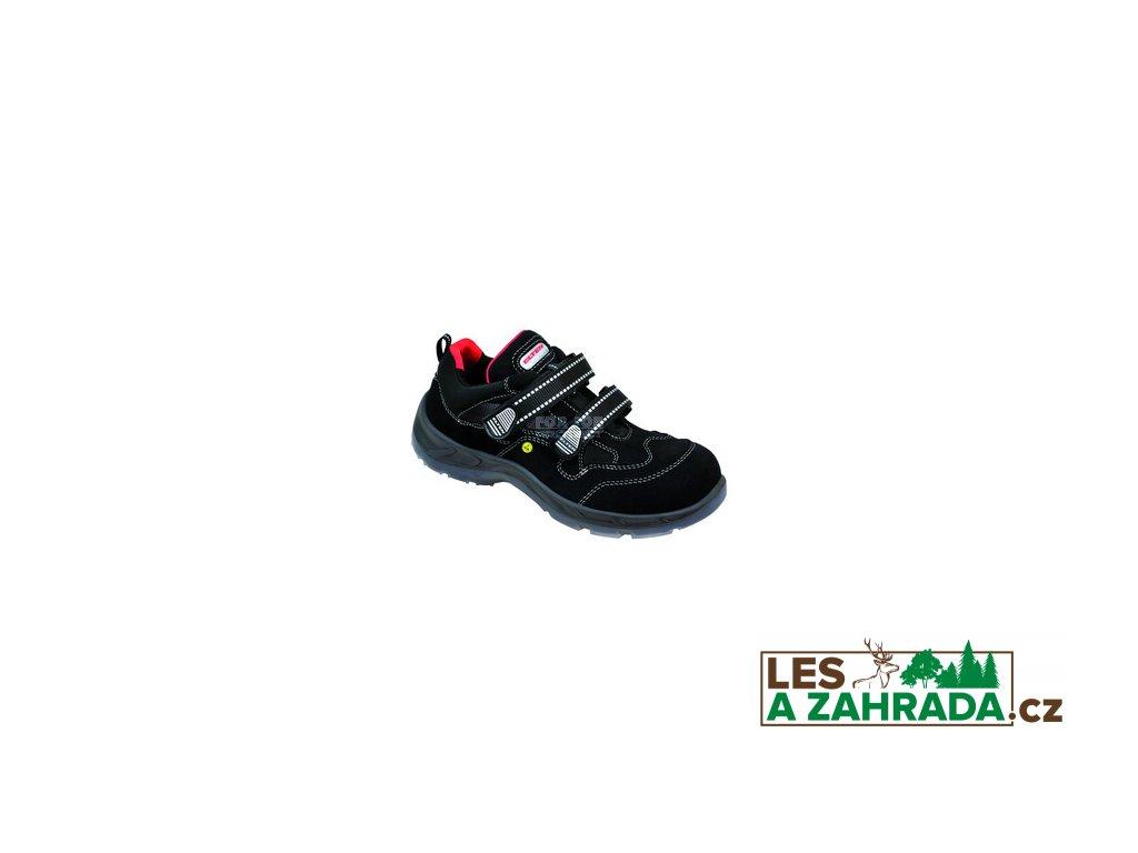 Bezpečnostní sandál S1 ELTEN SCOTT ESD, s plastovou ochrannou špicí 48