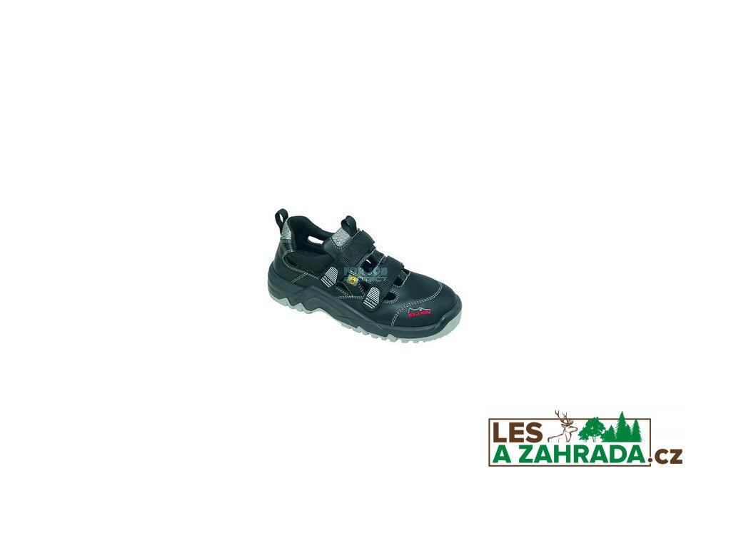 Bezpečnostní sandál S1 ELTEN LASLO ESD, s vysoce tlumící podešví 48