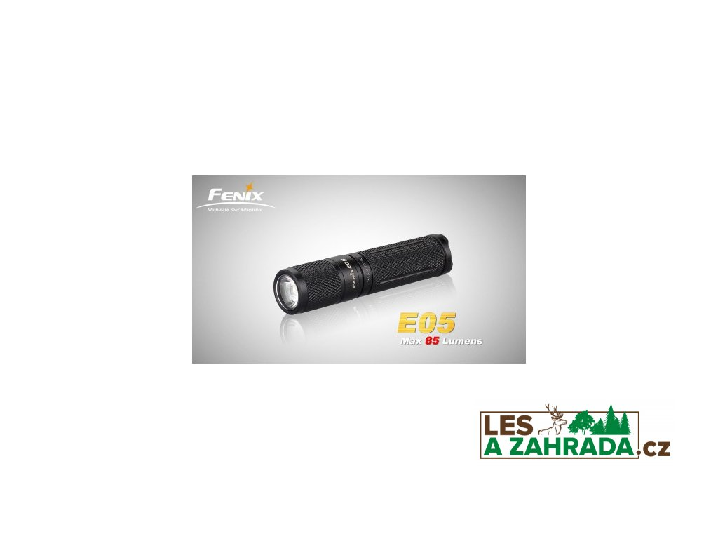 Baterka Fenix E05 XP-E2