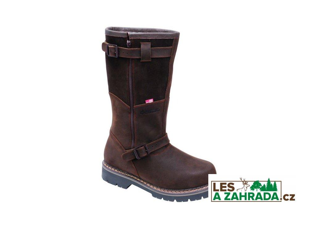 Myslivecká zimní obuv TIROL DELUXE 6468 hnědá