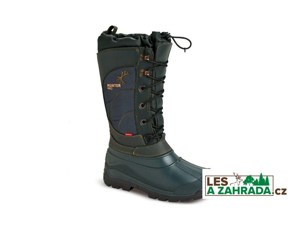 DEMAR - Dámské myslivecké boty HUNTER PRO 3812 zelené
