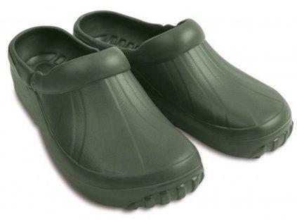 DEMAR Pánské pantofle NEW EVA CLOG 4842 zelené