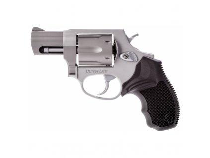"Revolver Taurus, Model: 856 UltraLite, Ráže: .38 Spec., 6 ran, hl.: 2"" (51mm), nerez"