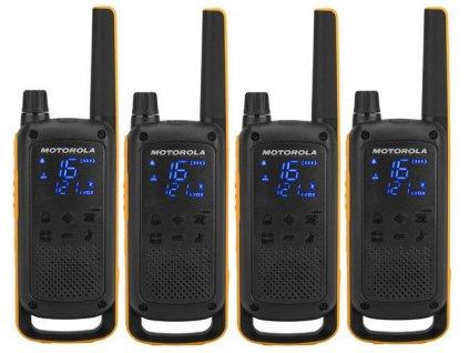 Motorola Talkabout T82 Extreme, Quadpack, žlutá/černá