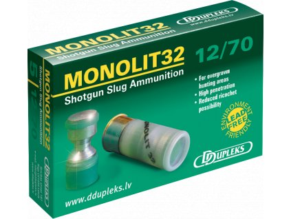 Dupleks 12x70 Monolit 32g Hunting 5ks