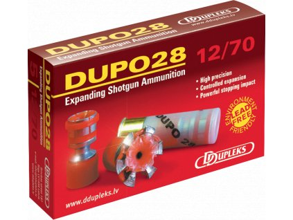 Dupleks 12x70 Dupo 28g Hunting 5ks