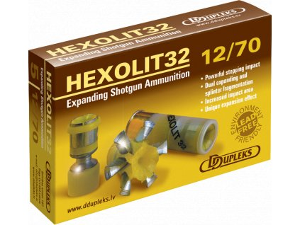 Dupleks 12x70 Hexolit 32g Hunting 5ks