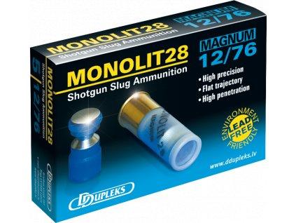 Dupleks 12x76 Monolit 28g Magnum 5ks