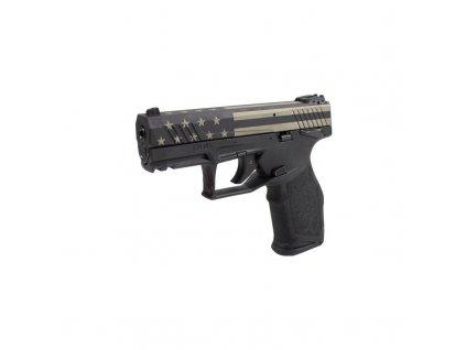 "Pistole sam. Taurus, Mod: TX22, Ráže: .22LR, hl.: 4"", 16+1, s adapt. na hlaveń, černá/USA"