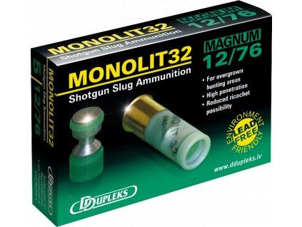 Dupleks 12x76 Monolit 32g Magnum 5ks