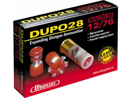 Dupleks 12x76 Dupo 28g Magnum 5ks