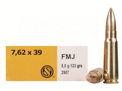 SB 7,62x39 (.311 SB) 2907 FMJ 8g