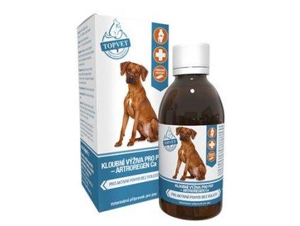 Kloubní výživa sirup pro psy TOPVET 200ml