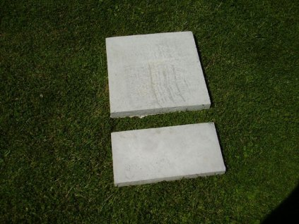 Dlaždice betonová 40x40x4