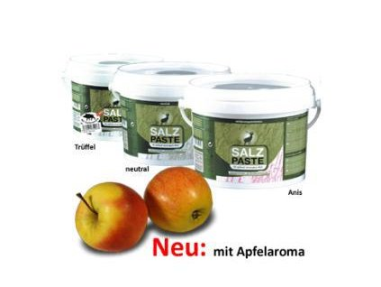 Solná pasta jablko - 2kg zásobní kbelík