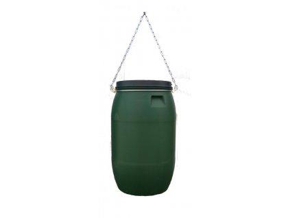 Zásobník na krmnou směs 120 litrů s obrubou