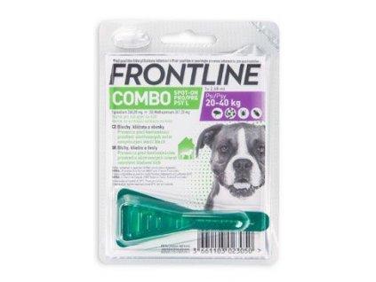 FRONTLINE COMBO spot-on pro psy L (20-40kg)-1x2,68ml