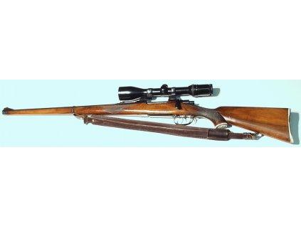 Řemen na zbraň šíře 4 cm stahovací podšitý protiskluzovou gumou