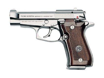 Beretta 85 FS Cheetah Nickel