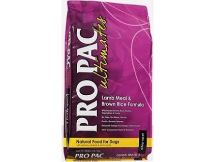 Pro Pac Ultimates Dog Adult Lamb&Brown Rice 12kg