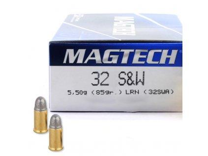 Náboj kulový Magtech, Standard, .32 SaW, 85GR (5,50g), LRN