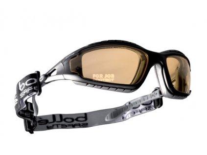 Značkové brýle TRACKER žluté - 99,99 % ochrana proti UVA/UVB