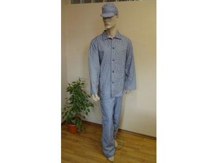 Kalhoty PEPITO s náprsenkou LACL