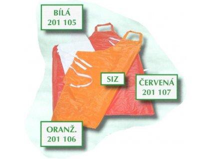 Zástěra SIZ 120x120 různé barvy