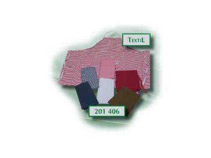 Zástěra textilní 90x106 bílá