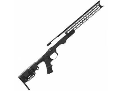 Pažbení AB Arms, Modular Rifle System, pro pušky Rem 700, modulární systém, GEN III, černé