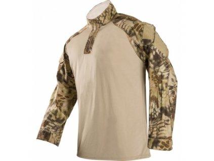 Tričko Vertx, Kryptek 37.5 Combat, dlouhý rukáv, ripstop, barva: Highland, vel.: XL