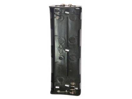 OdKH-DB - Náhradní držák baterií pro 6ks typu R14 1,5V pro zařízení řady OdK-H2