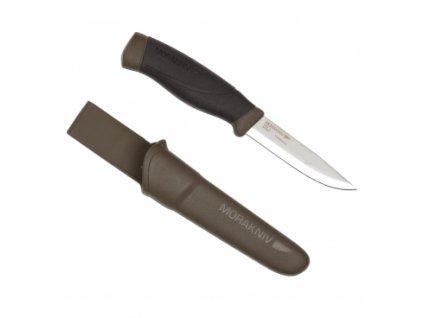 Lovecký nůž Mora, Companion MG, 10cm ostří, zelené pouzdro
